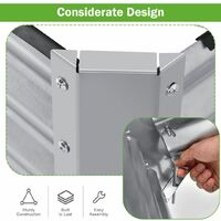 Wooden Garden Planter Planting Box Flower Planter Pot Raised Grow Bed Large