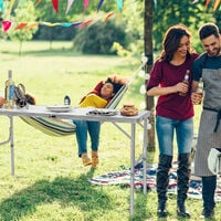 Folding Picnic Table Party Camping Large Table Portable Outdoor Lightweight Desk