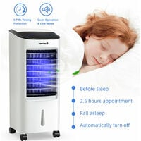 3-in-1 Portable Evaporative Cooler Fan Humidifier Air Conditioners 7L Water Tank