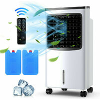 3-in-1 Portable Evaporative Air Cooler 8L Fan Humidifier Remote control 3 Speed