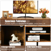 Industrial TV Stand Media Console Table Unit Storage Cabinet Furniture