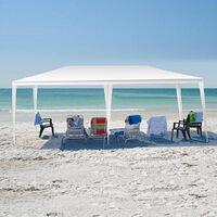 3 X 6M Outdoor Garden Patio Gazebo Marquee Tent Waterproof Canopy Wedding Party