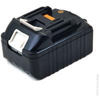 NX - Batería atornillador, taladradora, perforadora… compatible Makita 18V 3Ah - 194204-5 ; 1942