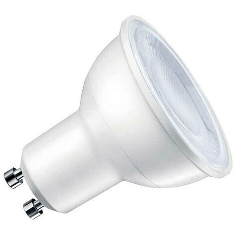 Bombilla dicroica LED GU10 COB, 60º, 5W, Regulable, Blanco neutro, regulable - Blanco neutro