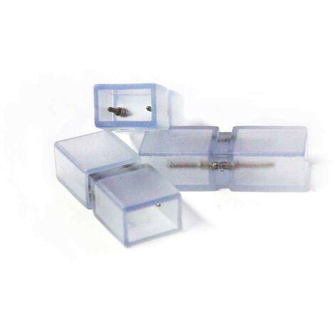 Unión intermedia tira led 220V SMD5050 / SMD5630 - 9,5mm