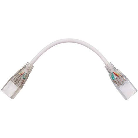 Cable unión intermedia tira led 220V SMD5050 RGB - 12mm