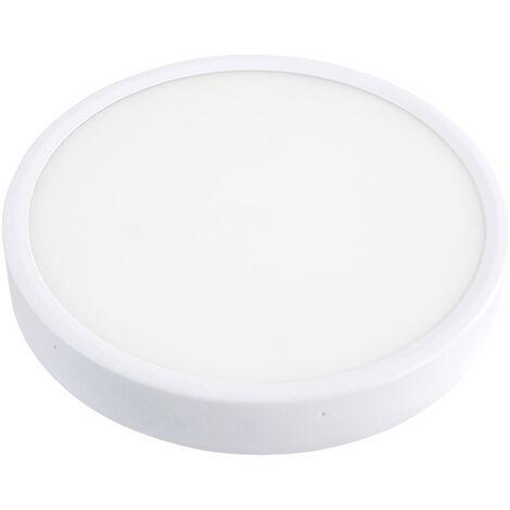 Plafón Led FROSVIK 18W superficie, Blanco frío - Blanco frío