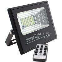 Proyector LED SOLAR DIGIT 25W, Blanco frío, regulable - Blanco frío