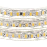 Tira LED 220V SMD5630, 120Led/m, 1 metro, Blanco frío - Blanco frío
