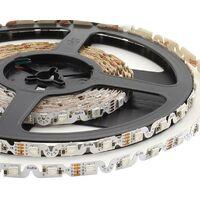 Tira contorno LED SMD5050, RGB, DC12V, 5m, (48Led/m) - IP20, RGB - RGB