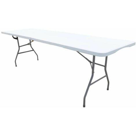 Table pliante rectangulaire 239x74x74cm Werkapro