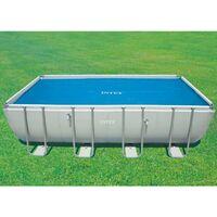 Bâche à bulles Intex 378x186cm pour piscine 4x2m