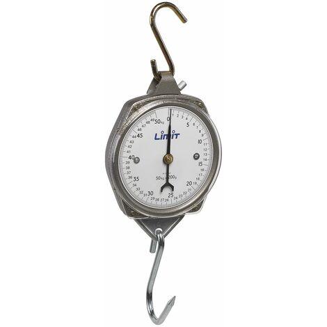 Balance suspendue analogue 100kg Limit LKC08100