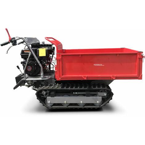 Brouette motorisée à chenilles 500kg rectangulaire 6F+2R MW-Tools MRP500H6