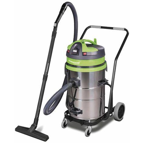 Aspirateur sans sac industriel 1150W, 62L (eau et poussière) Cleancraft WETCAT 262 IET