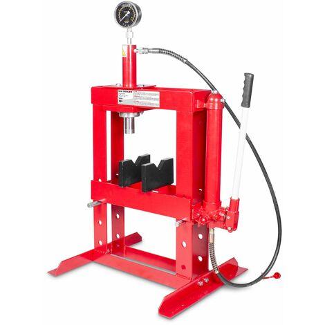Presse hydraulique d'établi manuelle 10 t MW-Tools CAT83010TS