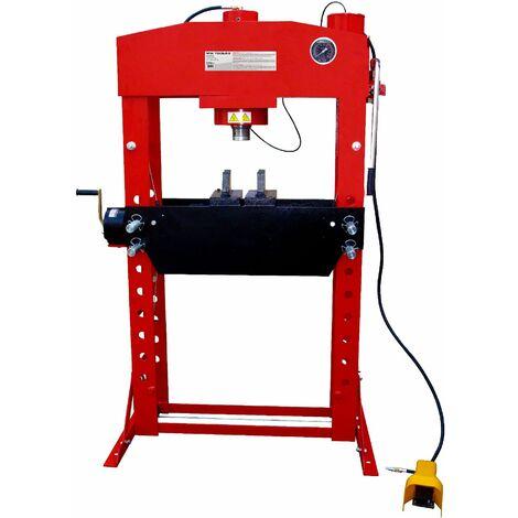 Presse hydraulique d'atelier hydropneumatique 75 t MW-Tools PPH75B