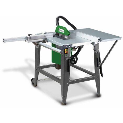Scie à table mobile pour le bois - ø 315 mm Holzstar TKS316E 230V