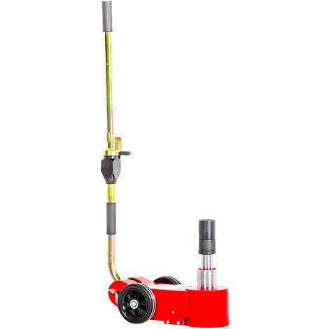 Cric rouleur hydro-pneumatique portable 15-30 T MW-Tools HPK1530M