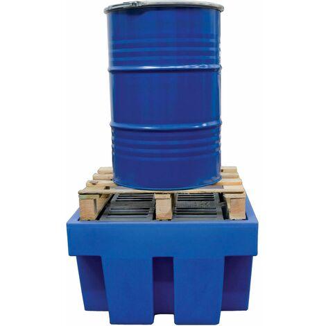 Bac de rétention pour 1 fût de 200 L MW-Tools OPB12