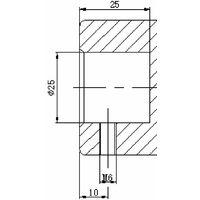 Presse hydraulique d'atelier hydropneumatique 20 t MW-Tools PPH20B