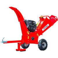 Broyeur de branches pro tractable thermique essence 15 cv 120 mm MW-Tools HHK120