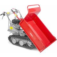 Brouette motorisée à chenilles 300kg 6,5 CV à 4 vitesses MW-Tools MRP300