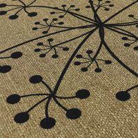 JVL Elegance Range Dandelion Indoor Mat 50 x 75 cm