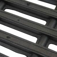JVL Robusta Heavy Duty Rubber Link Entrance Door Mat, 36 x 61 cm