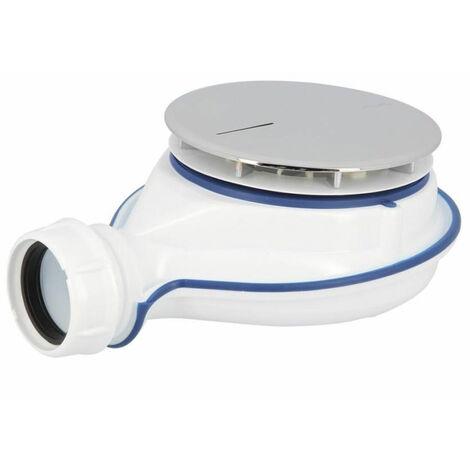 Nicoll Turboflow XS Bonde siphoïde pour receveur de douche - technologie Magnetech - Ø 90 mm (0205800)