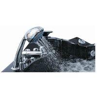 Bañera Hidromasaje MALDIVAS Negra 42 jets