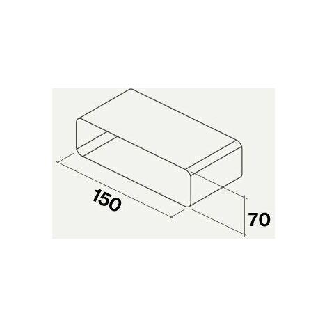 Falmec manchon pour raccorder gaine plate rectangulaire   220*90