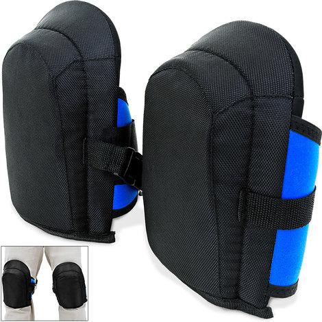 Ginocchiera in gel   protezione ginocchia   regolabile   elasticha  