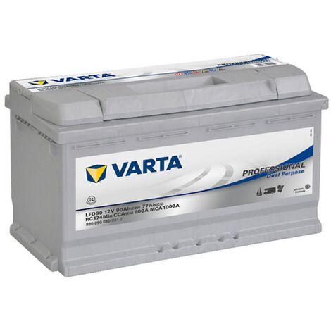 Batterie de démarrage Varta Professionnal Décharge lente L5 LFD90 12V 90Ah / 800A