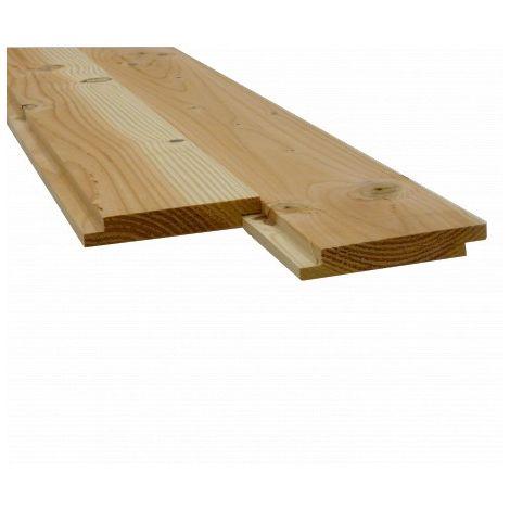 Plancher/Sous Toiture Mi-Bois Douglas 2nd Choix 22X135MM 4M