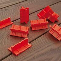 Espaceurs de lames Deck Spacer composé de 4 ailettes de 3, 4, 5 et 6 mm sachet de 8 pièces
