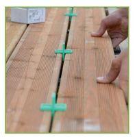FIXEGO : Fixation Invisible pour lames de terrasse de +25mm d'ép.