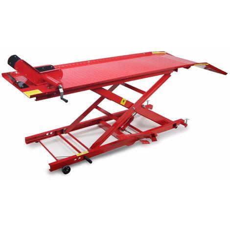 Elevador Hidraulico De Motos 450 Kilos Rojo