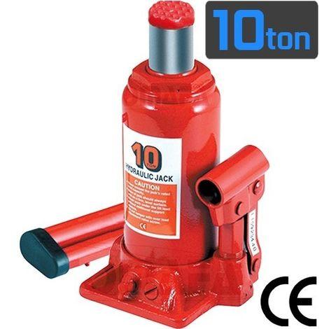 Gato Hidraulico De Botella 10 Toneladas Homologacion Ce