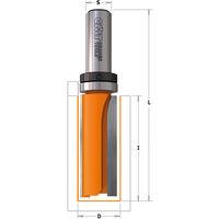 812.158.11B FRAISE À COUPE DROITE HW AVEC ROULEMENT S=6,35 D=15,8X31X70