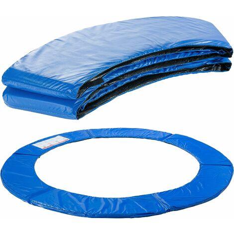AREBOS Coussin de protection des ressorts pour trampoline 183 cm bleu - Blau