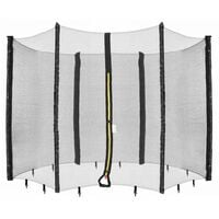 Arebos Filet de sécurité pour trampoline 244 cm - noir