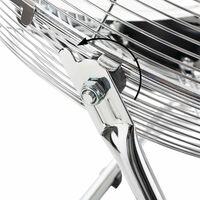AREBOS Ventilateur de sol Ventilateur Souffleur Brasseur d'air 14 Pouces 70W - argent