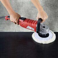 AREBOS Polisseuse de Voiture Électrique Lustreuse Machine à Polir 2100 W - Rouge