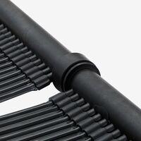 2x AREBOS Réchauffeur de Piscine Solaire Chauffage Solaire 66 x 300 cm Noir