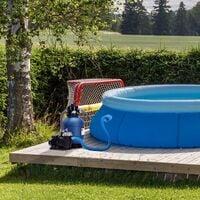 AREBOS Système de Filtre à Sable avec Pompe Filtre à Sable Pompe Filtre Système - Bleu