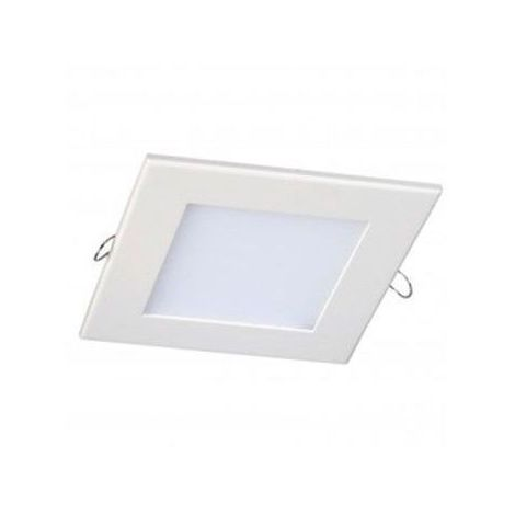 Blanc Chaud - Dalle Encastrable Carrée Extra-plate - 150mm - 12W - SMD Epistar - Blanc Chaud