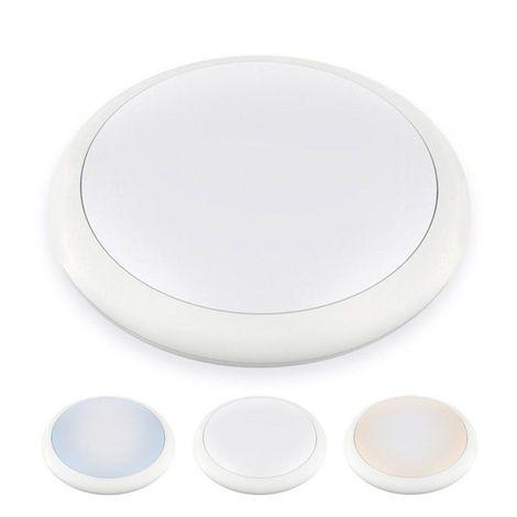 Hublot LED Rond ø 270 mm NOVA - 12 W - IP 65 - Triple couleur de blanc - DeliTech®