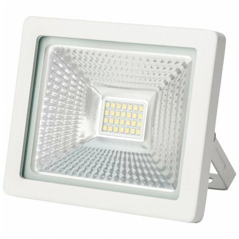 Projecteur LED WAVE - 20W - IP65  - Ecolife Lighting - Blanc Pur