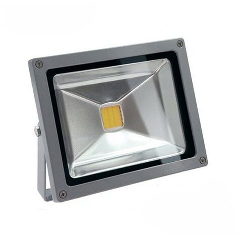 Blanc Froid - Projecteur LED FIRST 12/24V DC - 20W - IP65 - Ecolife Lighting - Blanc Froid